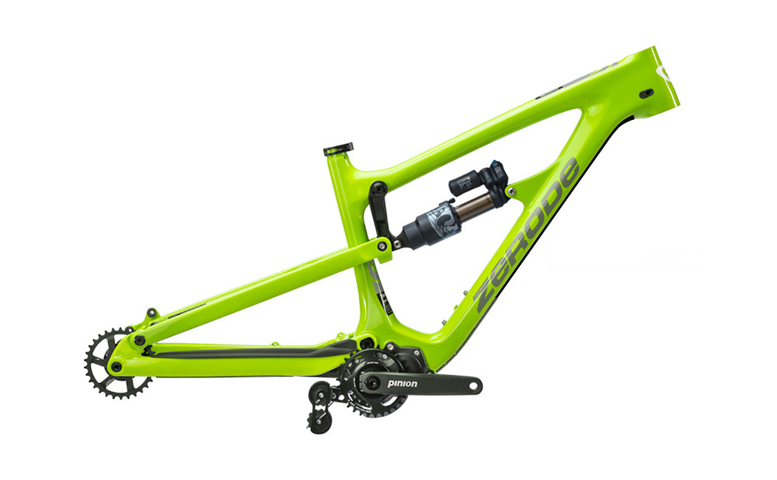 Zerode Taniwha Origin Frame (Electric Grellow)