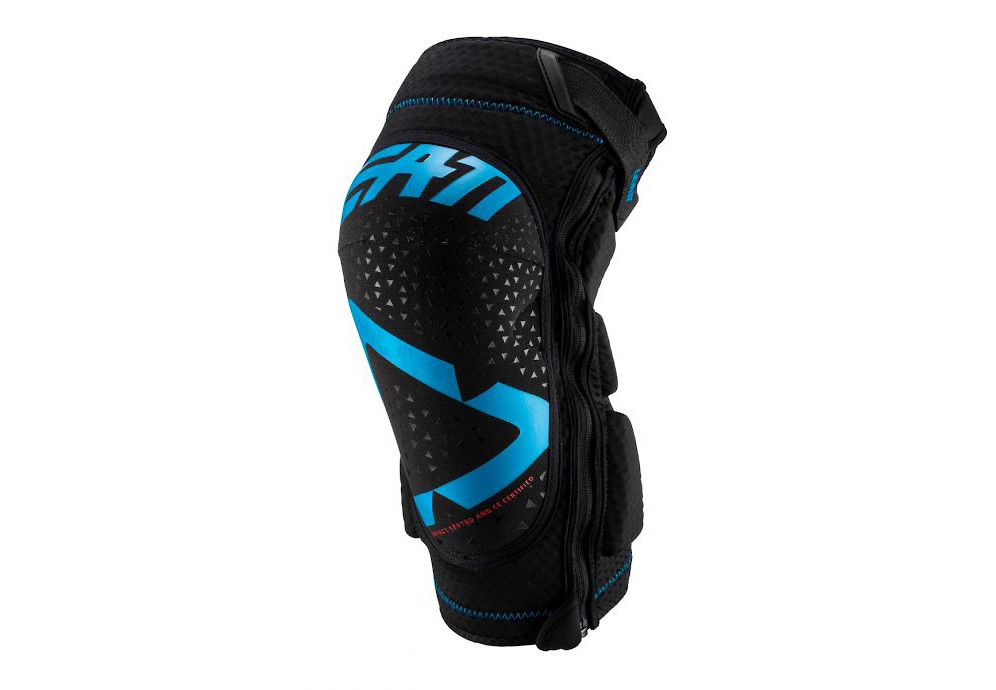 Leatt 3DF 5.0 Zip Knee Guard - Fuel/Black