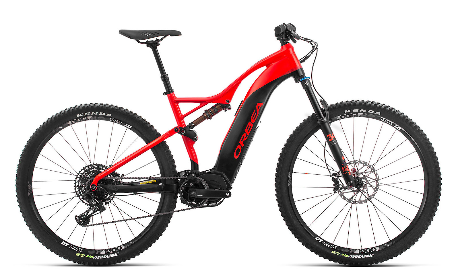 2019 Orbea Wild FS 30 29S E-Bike