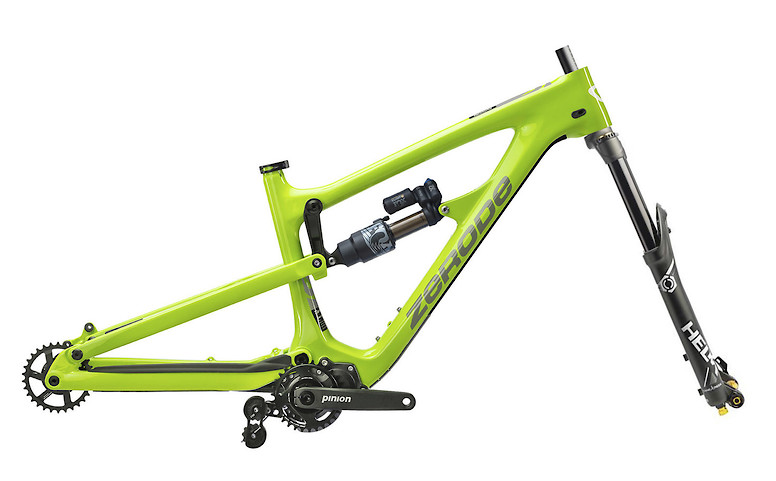 2019 Zerode Taniwha Pioneer Frame