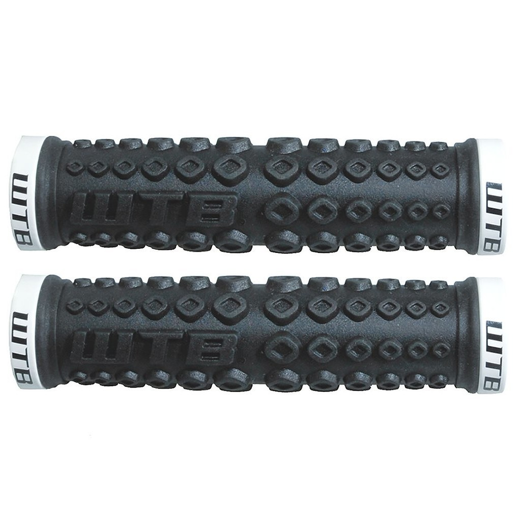 WTB Moto X Clamp On Grips Black White