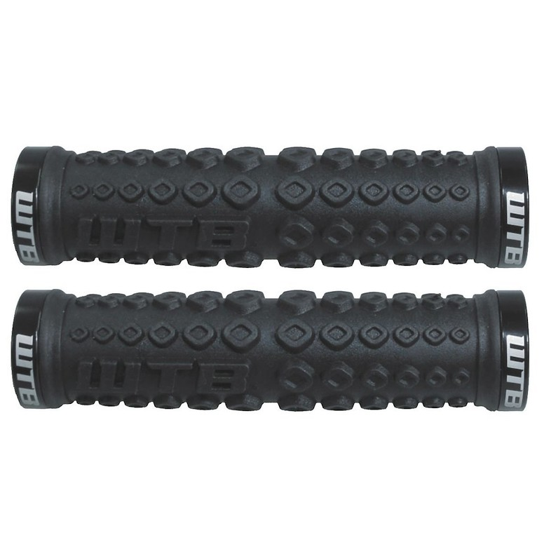 WTB Moto X Clamp On Grips Black Black
