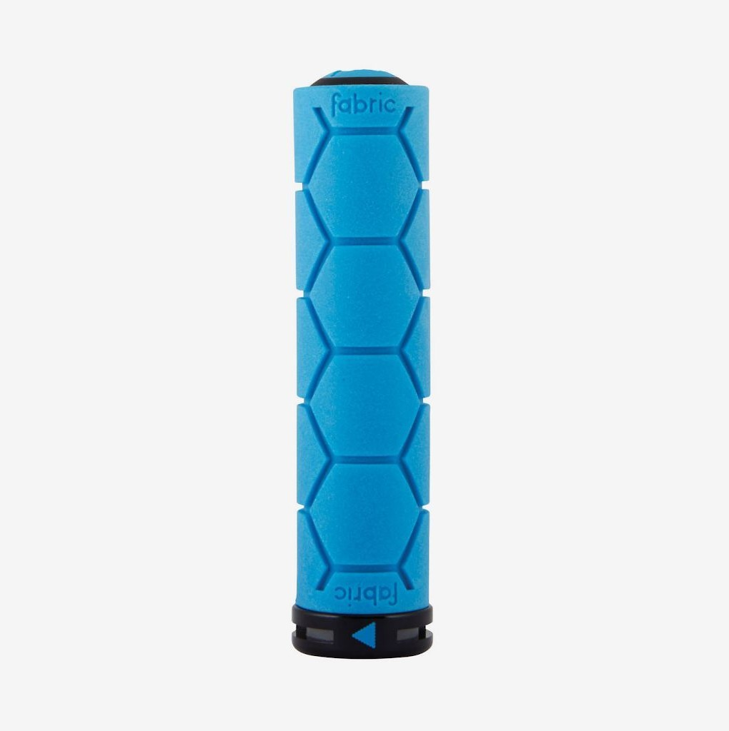 Fabric Silicone lock-on Grip Blue