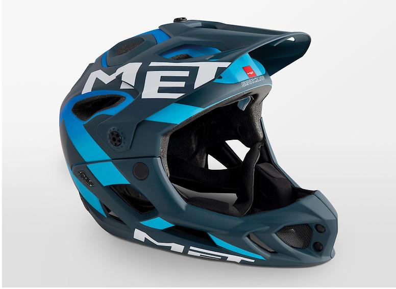 MET Parachute Helmet (2019 Blue Shaded Cyan/Matte)