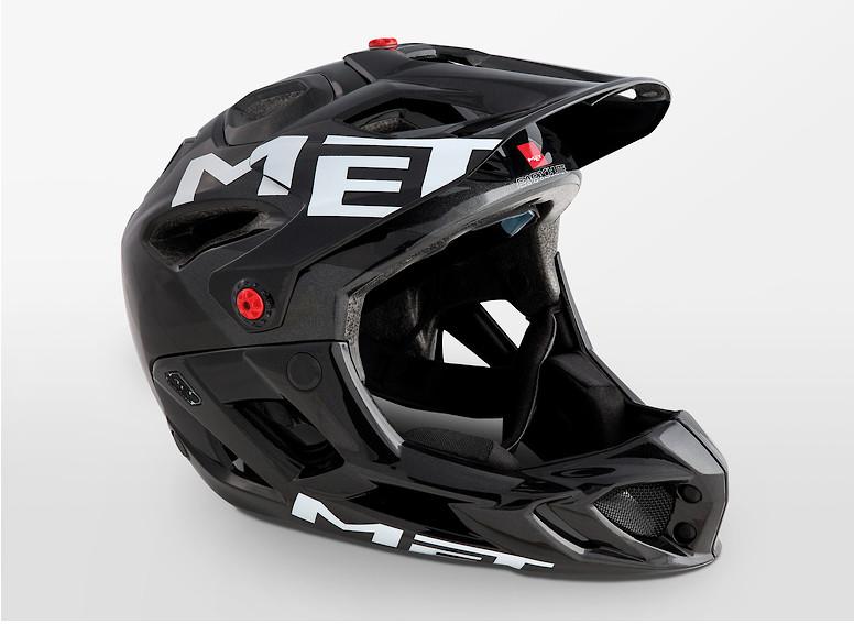 MET Parachute Helmet (2019 Anthracite Black/Glossy)