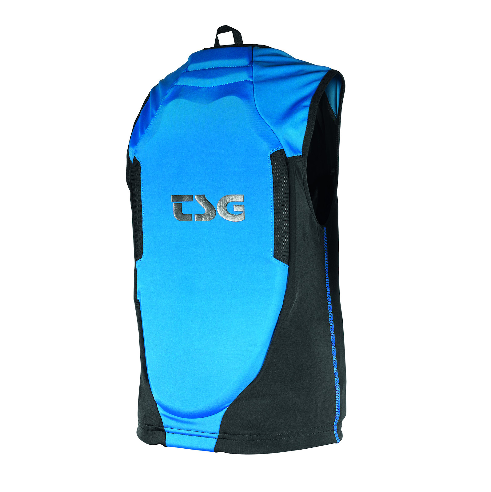 TSG Backbone Vest Junior Black-Blue