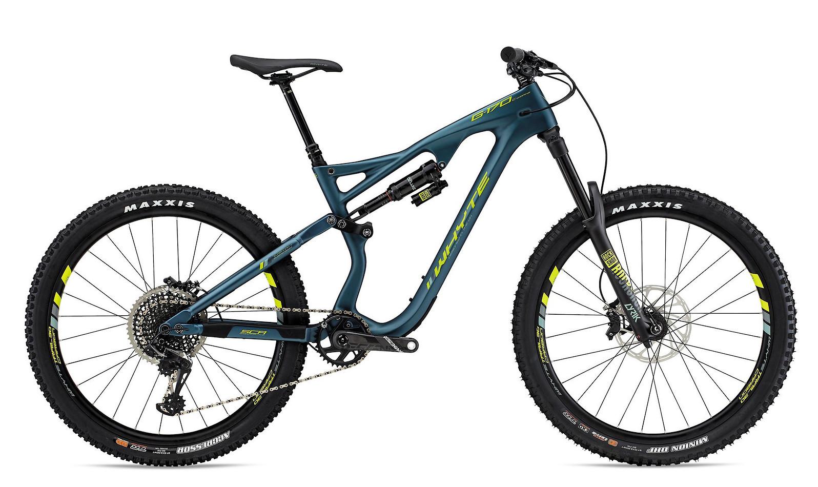 2019 Whyte G-170C Works Bike