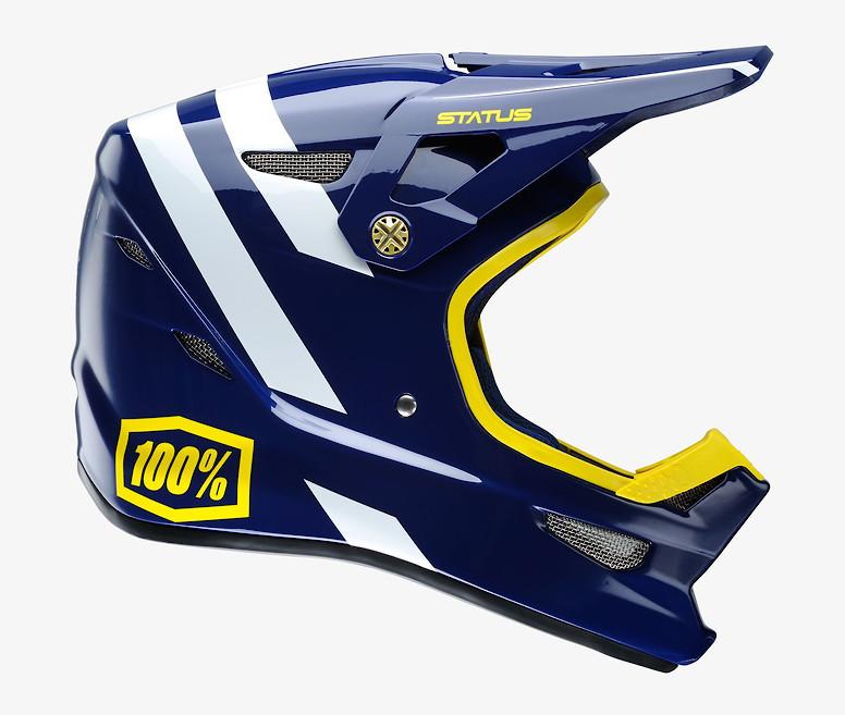 100% Status Helmet (Midnight Meteor)