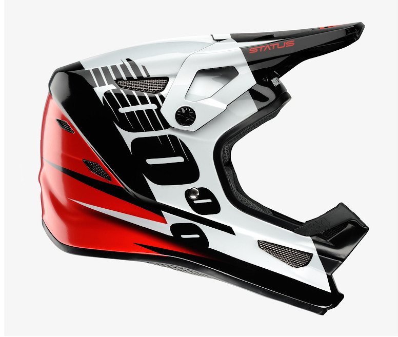 100% Status Helmet (Kelton Red)