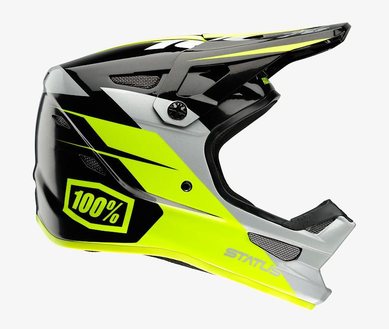 100% Status Helmet (Falta Charcoal )