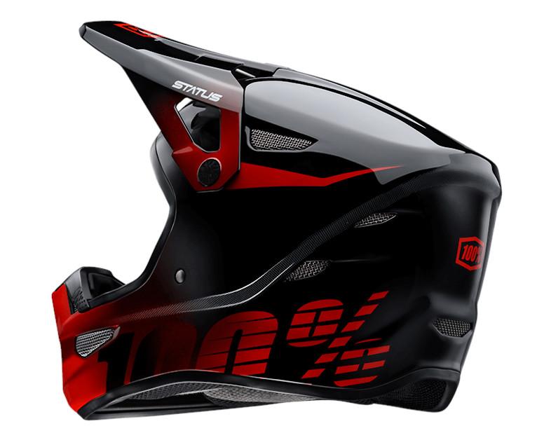 100% Status Helmet (Selecta Red)