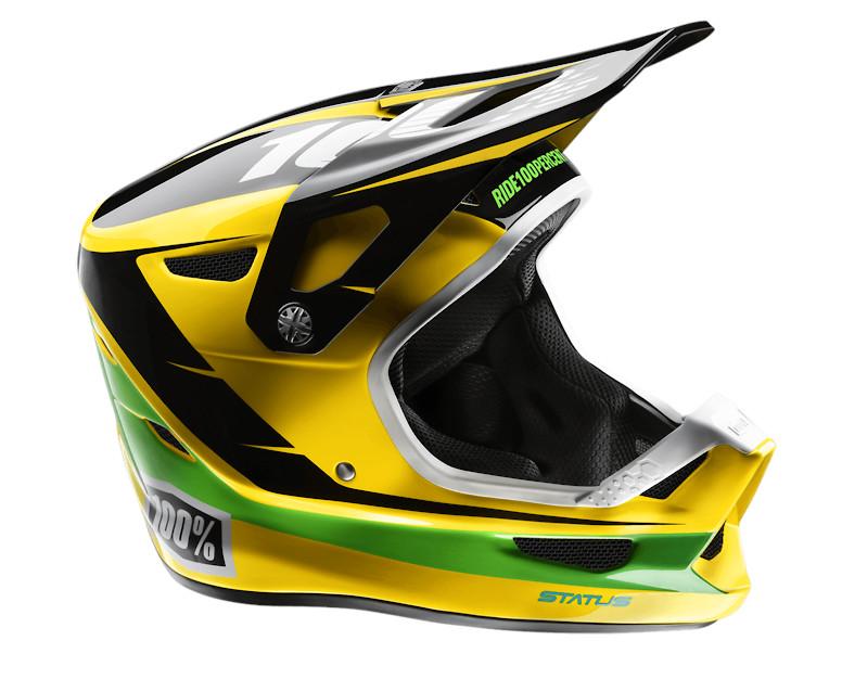 100% Status Helmet (D-Day Yellow)
