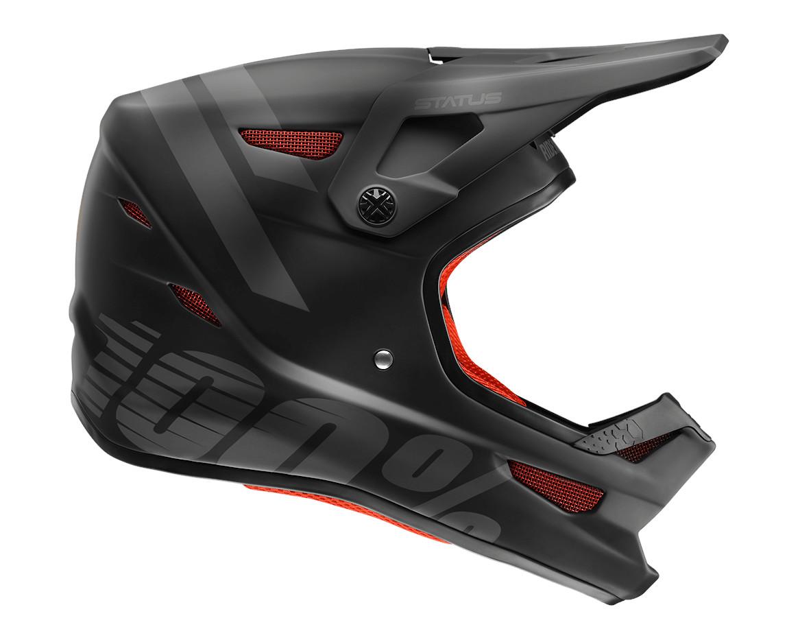 100% Status Helmet (Black Meteor)