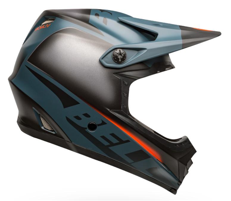 Bell Full-9 Fusion (Matte Black/Slate/Orange)