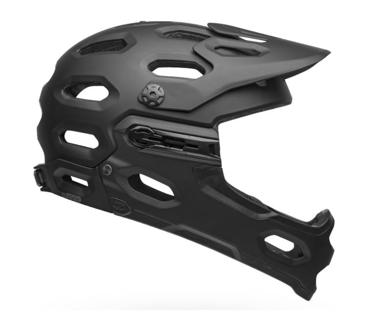 Bell Super 3R MIPS Helmet (Matte Black)