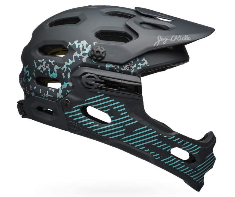 Bell Super 3R MIPS Helmet (Matte/Gloss Lead Stone)