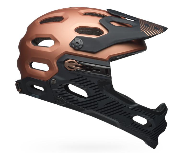 Bell Super 3R MIPS Helmet (Matte/Gloss Copper/Black)