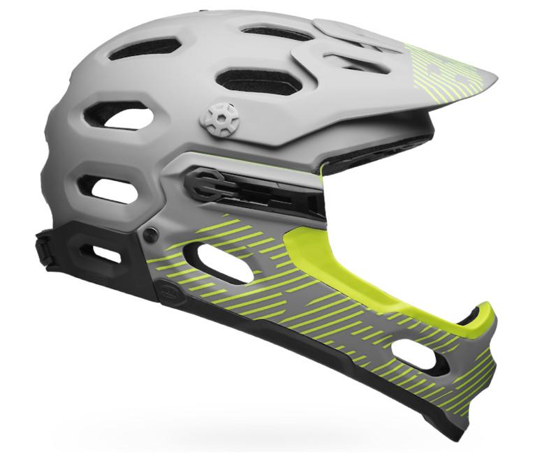 Bell Super 3R MIPS Helmet (Matte Smoke/Pear)