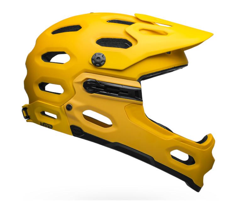 Bell Super 3R MIPS Helmet (Matte Yellow/Coal)