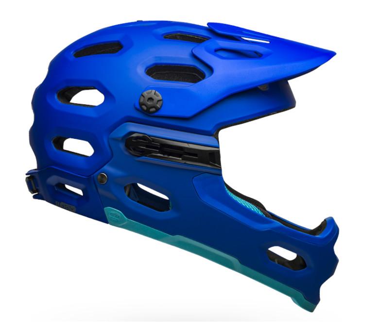 Bell Super 3R MIPS Helmet (Matte Blues)