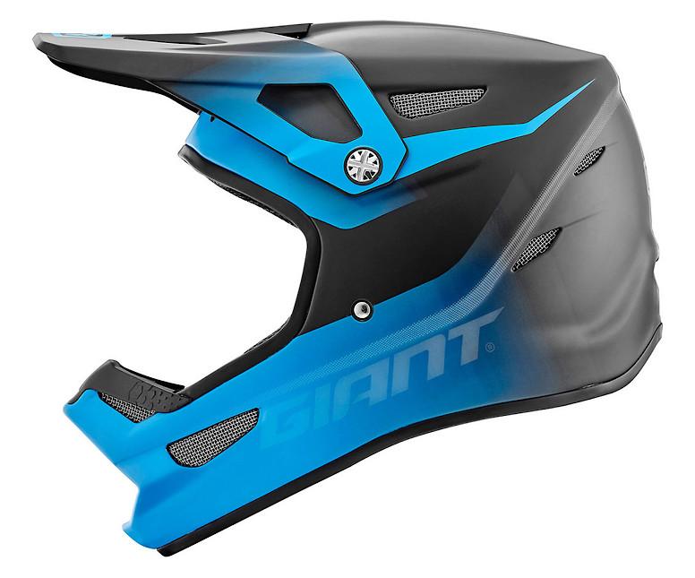 Giant 100% Status Helmet - matte cyan (side)