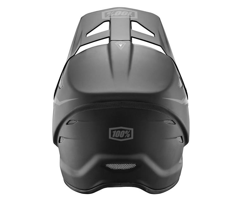 Giant 100% Status Helmet - matte black (rear)