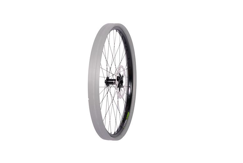 CushCore PRO on a wheel
