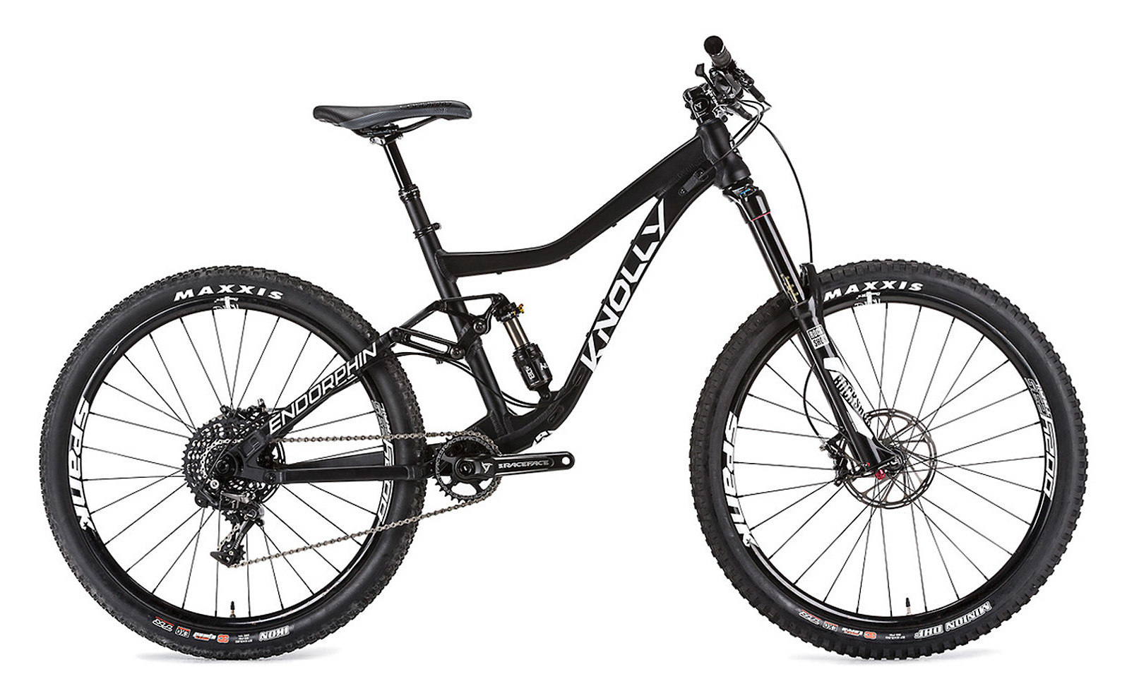 2019 Knolly Endorphin Dawn Patrol Bike (shown with different build options)