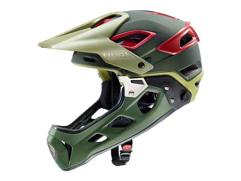 Uvex Jakkyl Full Face Helmet