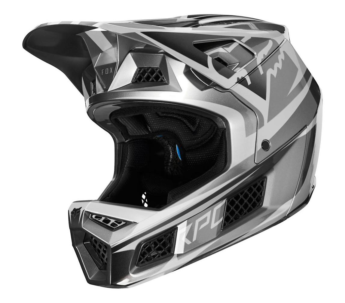 Fox Racing Rampage Pro Carbon (Beast Metallic Silver)