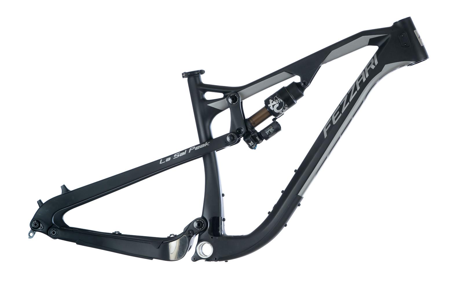 Fezzari La Sal Peak Frame (2020/2021, Raw Carbon and Silver)