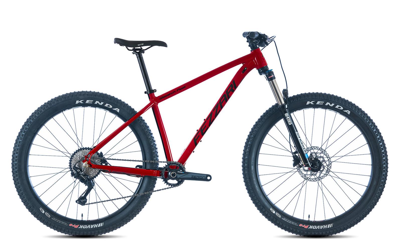 2019 Fezzari Wasatch Peak Comp 27.5 Plus Bike