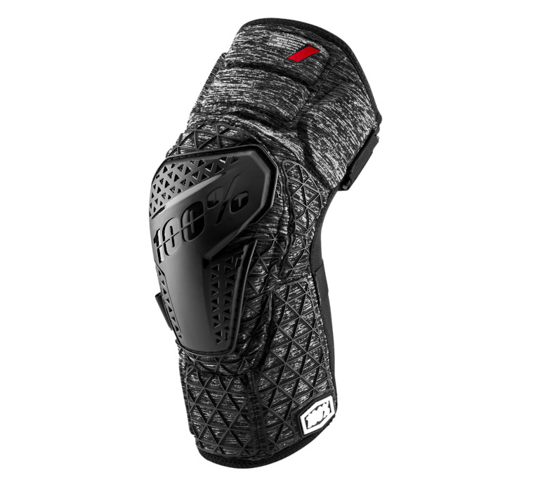 100% Surpass Knee Guard (Grey Heather)