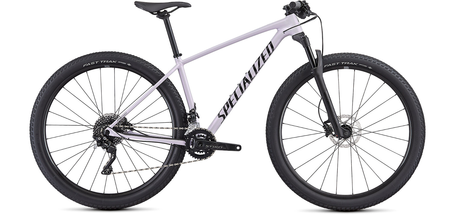 2019 Specialized Womens Chisel Comp Lilac Black