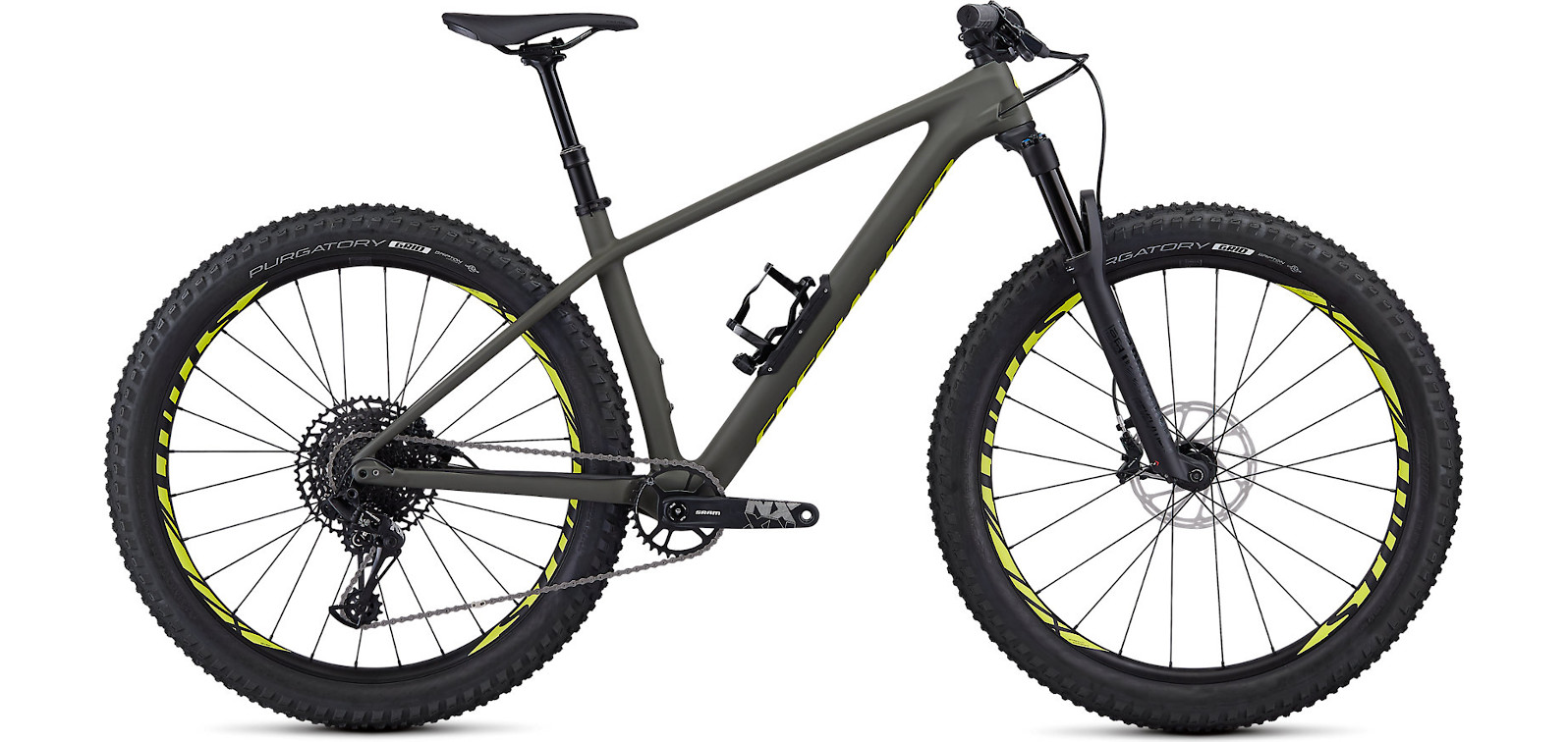 2019 Specialized Fuse Comp Carbon 27.5  Satin Gloss Oak Team Yellow