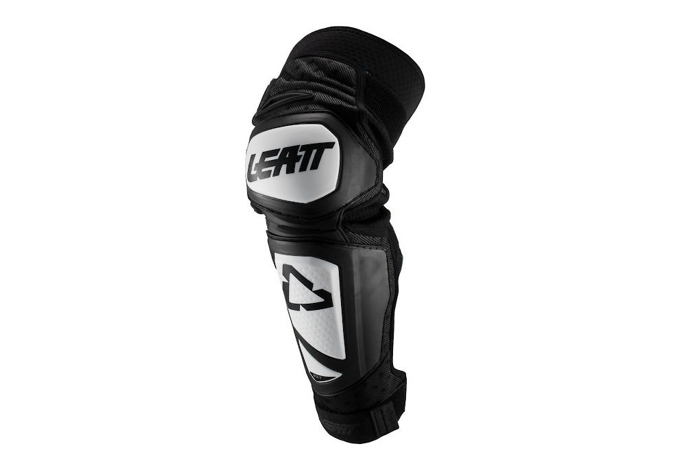 Leatt 3.0 EXT Knee and Shin Guards Fuel//Black