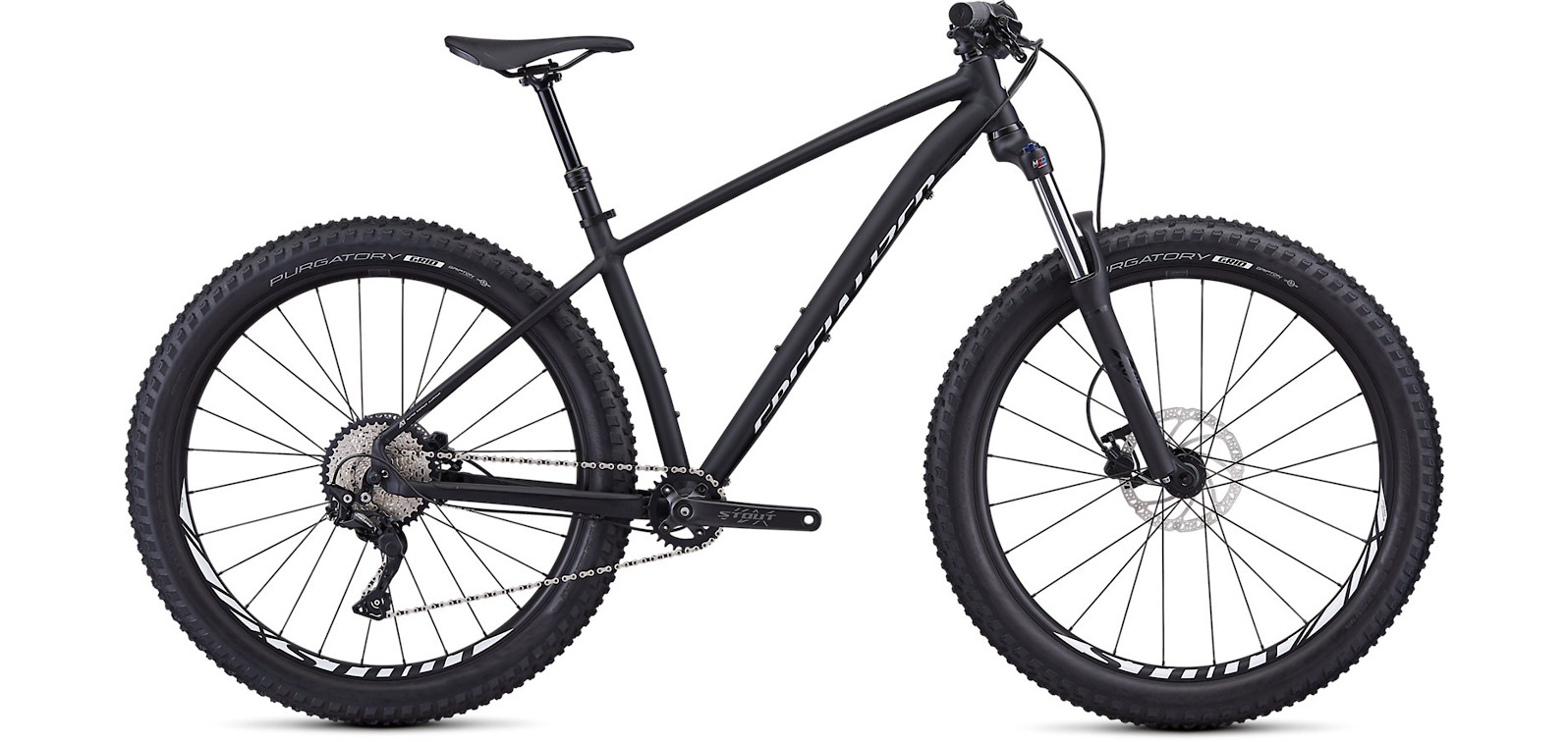 2019 Specialized Fuse 27.5  Black White