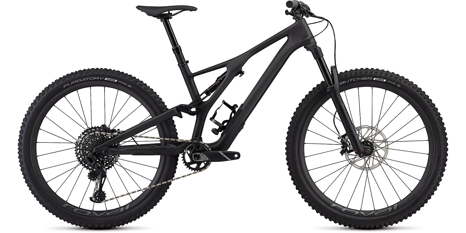2019 Specialized Stumpjumper ST Expert  27.5 Satin Carbon Black