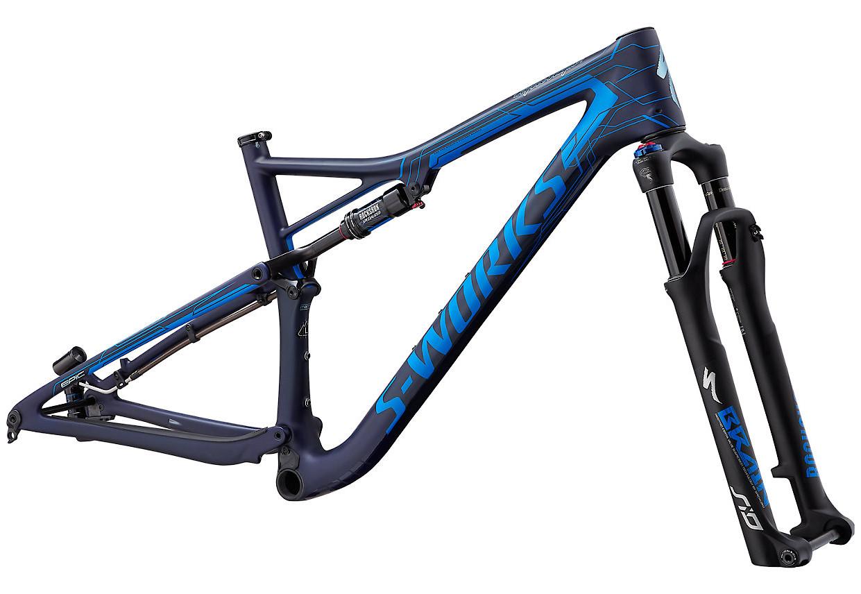 Specialized Epic S-Works Frame (Satin Blue Tint/Mirage Blue)