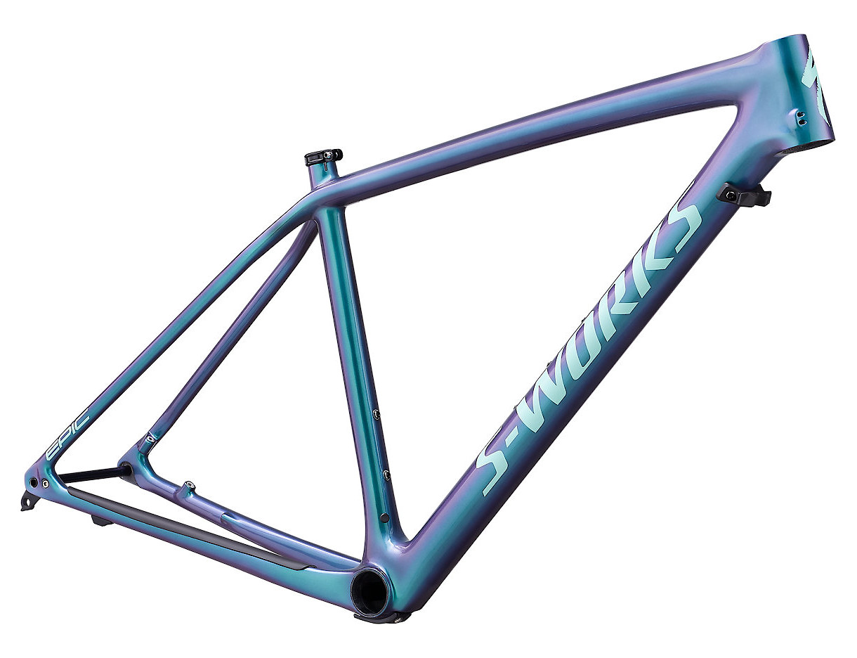 2019 Specialized Epic Hardtail S-Works Frame Gloss Oil Slick Mint