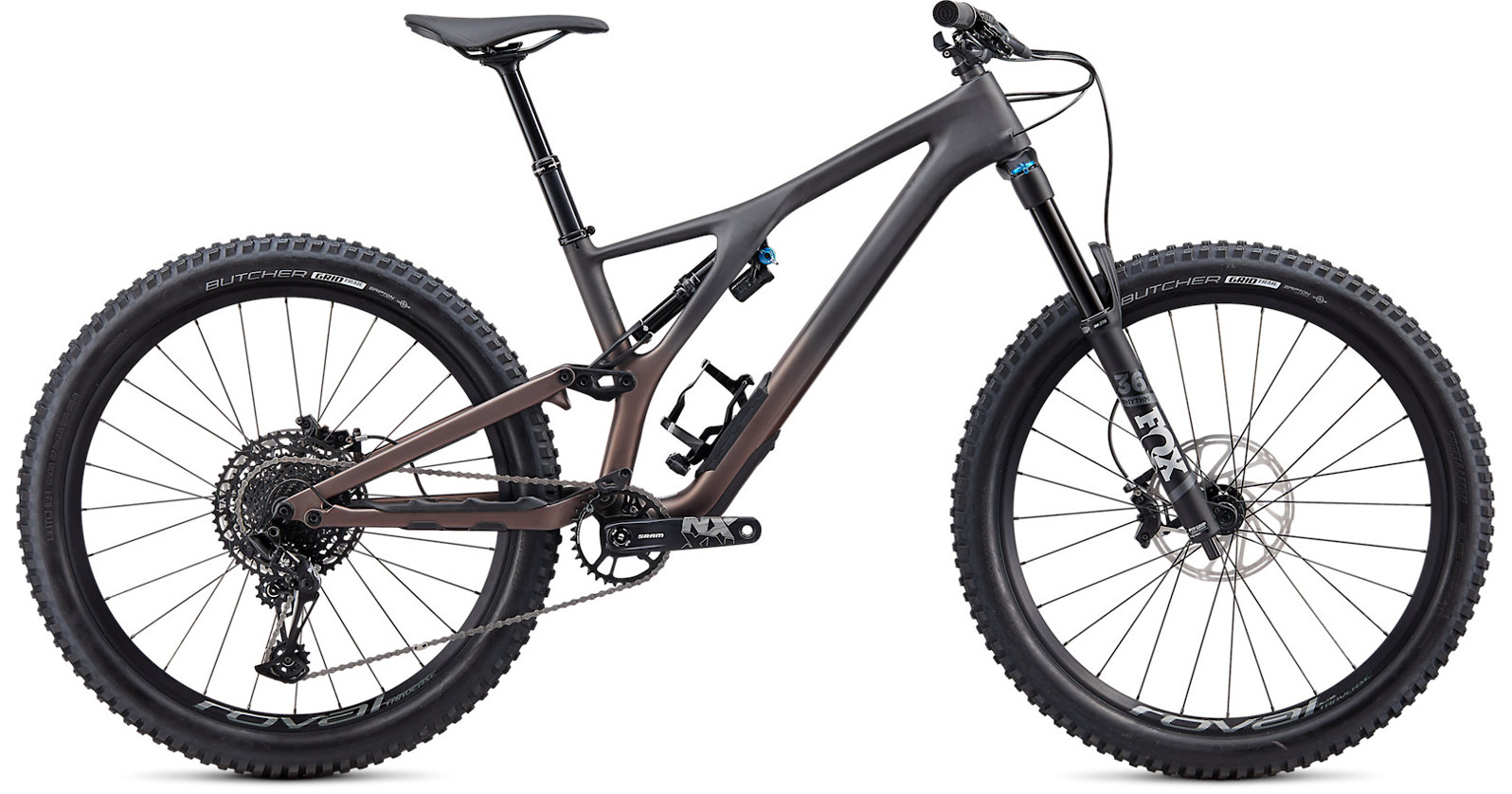 2020 Specialized Stumpjumper EVO Comp Carbon 27.5 SATIN CARBON GUNMETAL