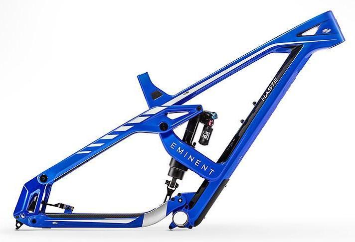 Eminent Haste 160 Advanced - blue/white/gloss