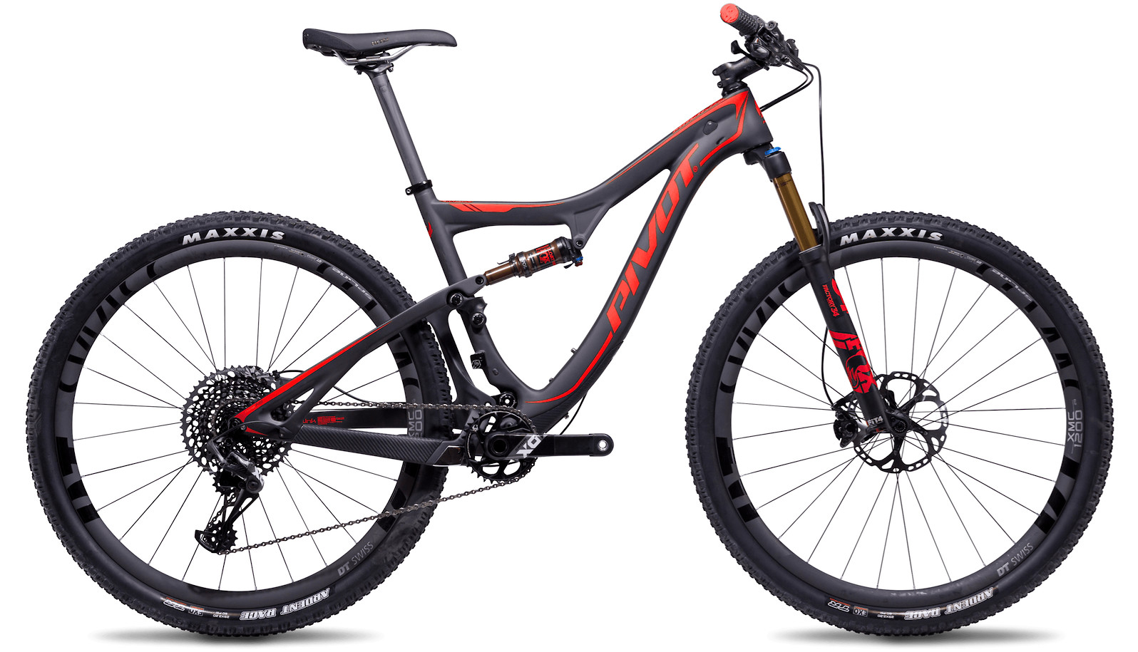 Factory Red (2019 Pivot Mach 429SL Pro X01 pictured)
