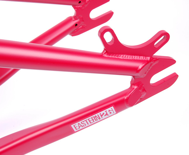Frame Nightrain Matte Red Dropouts LoRes