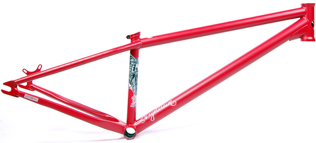 Frame Nightain Matte Red LoRes