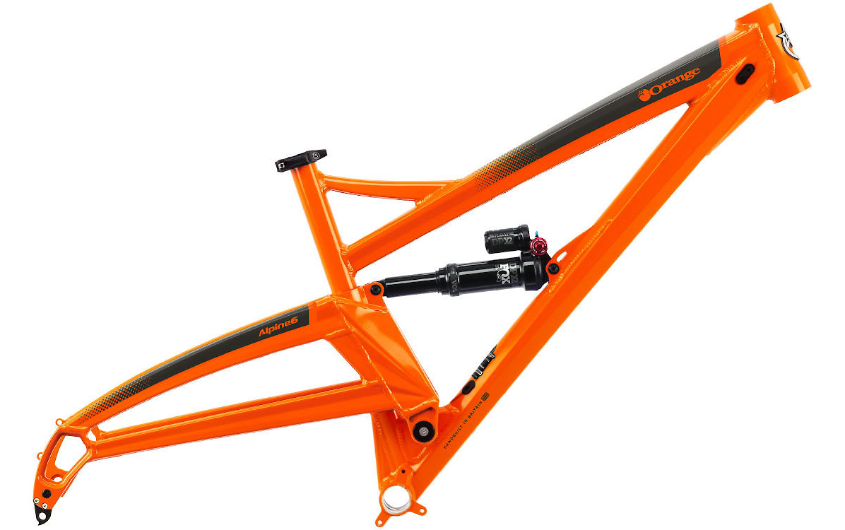 Orange Apline 6 frameset