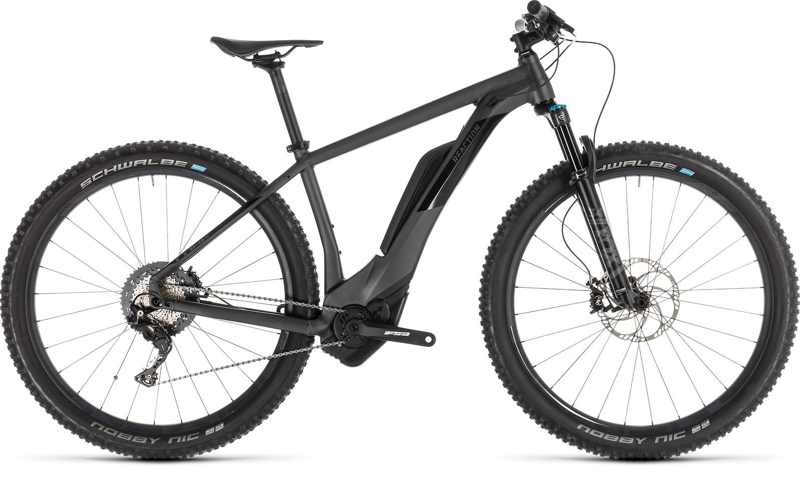 2019 Cube Reaction Hybrid HD 500 29 E-Bike in Iridium'n'black