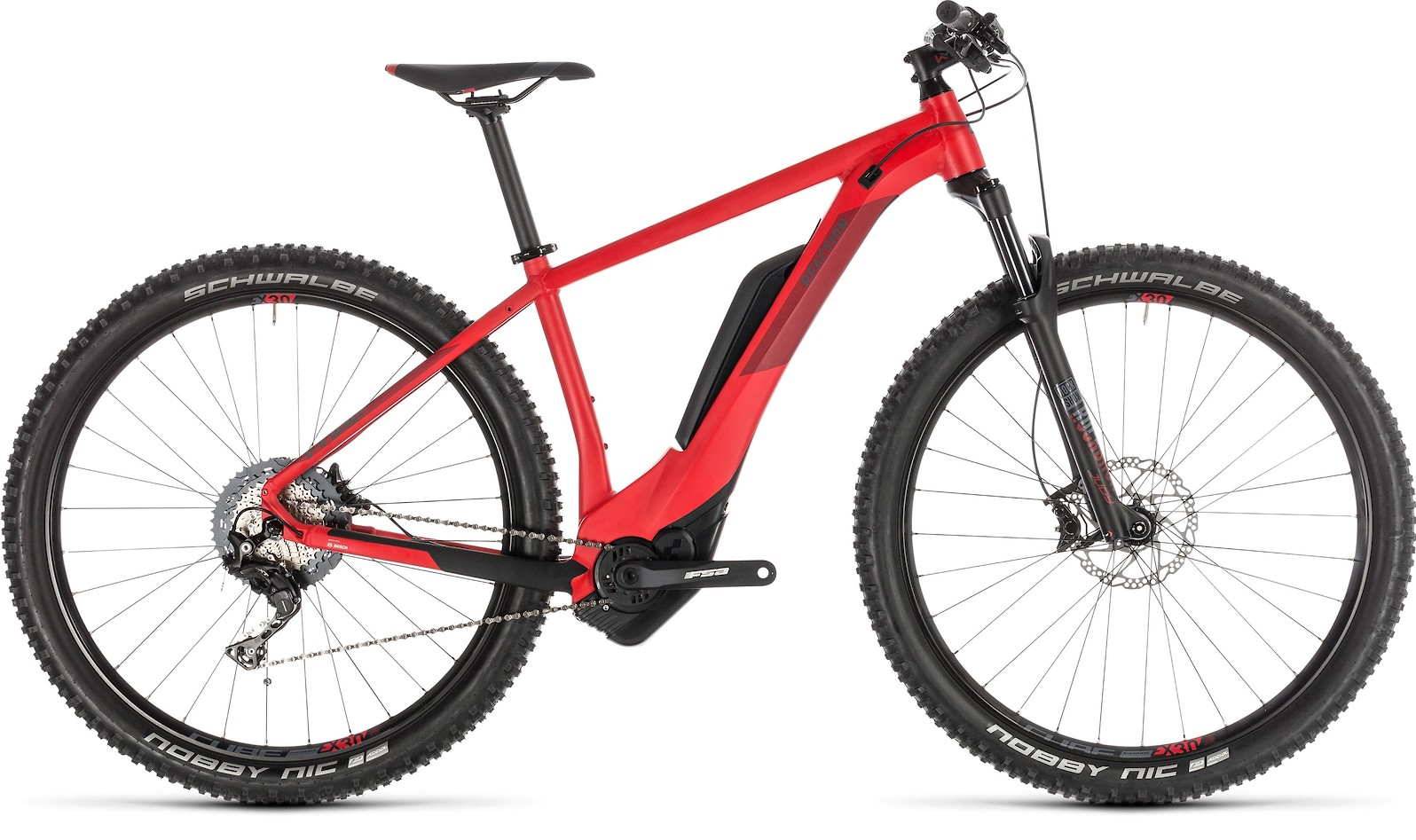 2019 Cube Reaction Hybrid Race 500 in red'n'red