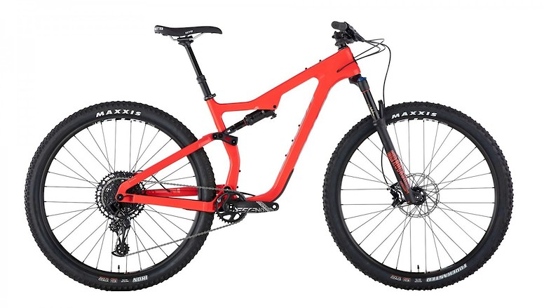 Salsa Spearfish Carbon NX Eagle - Red