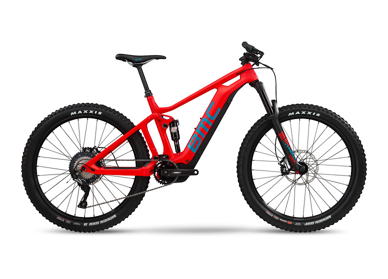 BMC Trailfox AMP Two in Red